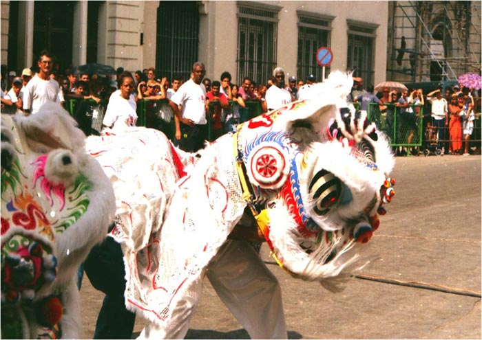 La Danza del León en los inicios de la Escuela 1996