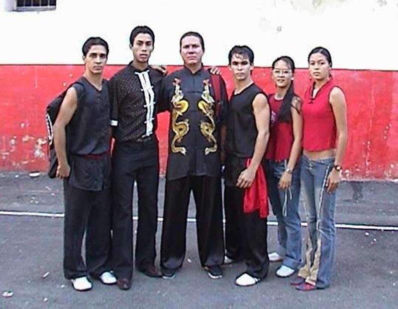 Equipo Cuba de Wushu 2003
