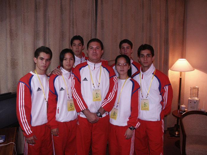 Equipo Cuba de Wushu 2004