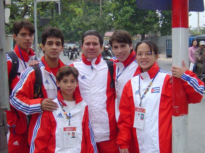 Equipo Cuba de Wushu 2005