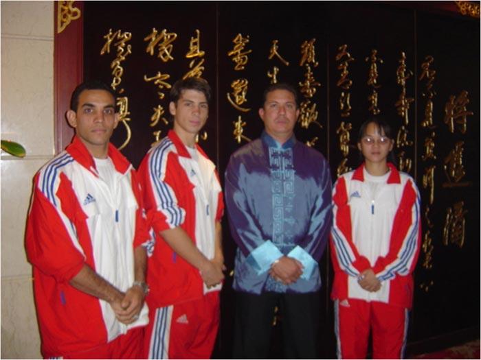 Equipo Cuba de Wushu 2006