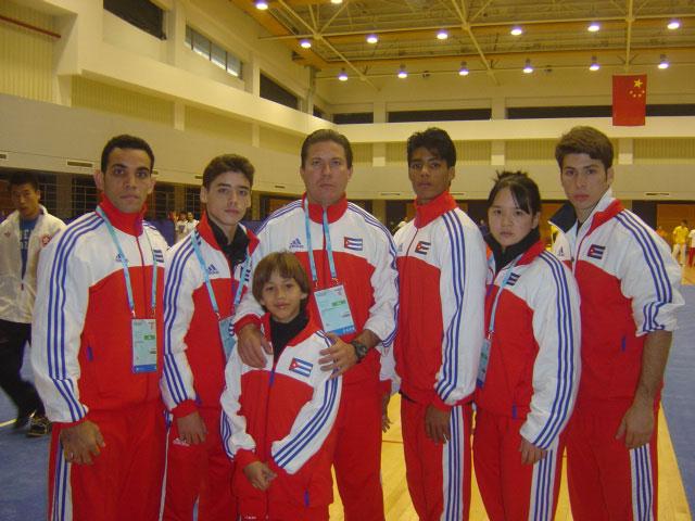 Equipo Cuba de Wushu 2007
