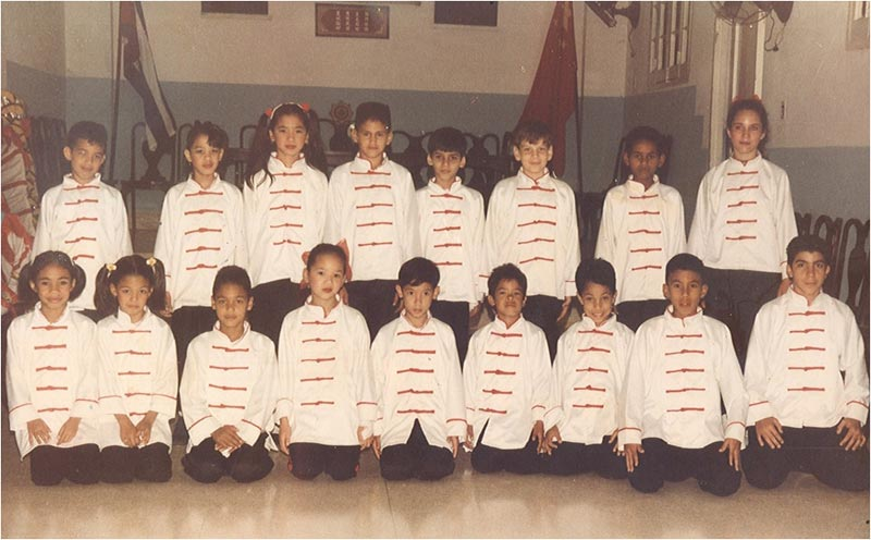 Grupo infantil 1995