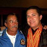 El maestro Roberto Vargas Lee junto con su maestro Raul Rizo