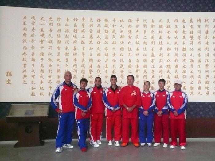 Equipo en China 2012