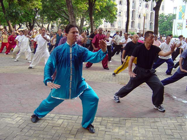 Visita del maestro Shoko Sato de Karate-do 2005