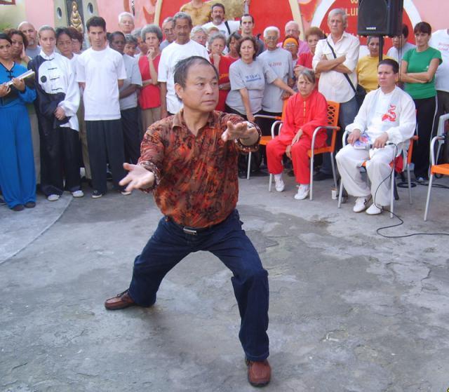 Primera visita del maestro Xu Chang Wen 2008